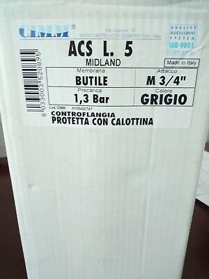 Accumulator or Expansion tank 5lt for potable (drinking) water CIMM ACS 5