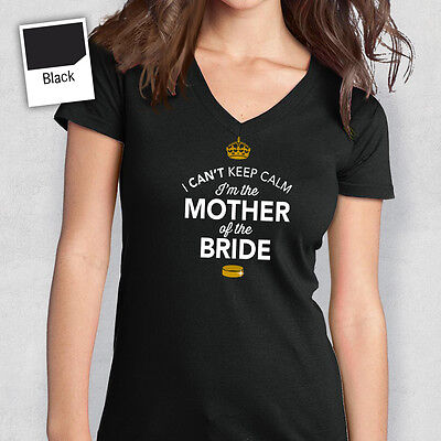 Mother Of The Bride Tshirt T Shirt Bridal Gift Present Hen Do Wedding Party