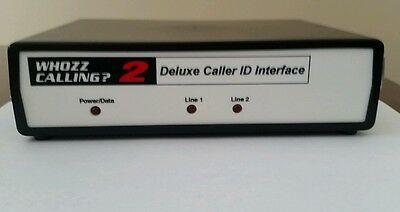 WHOZZ CALLING? 2 (DELUXE) CALLER ID- Brand New with Warranty