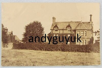 Real Photo Postcard ARKSEY Coney Garth Station Road Yorkshire DONCASTER House