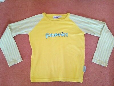 Brownie uniform long sleeve top