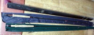 2 fly rods 1x Leatherbarrow, 1x Airflo, fly fishing