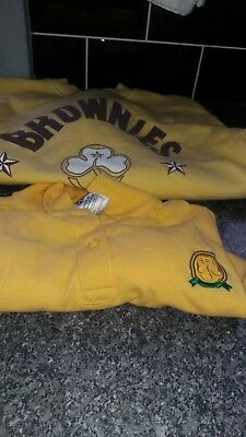 brownies polo shirt and sweatshirt