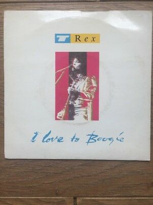 "Marc Bolan I Love To Boogie Excellent Condition Vinyl 7"" With Picture Sleeve"