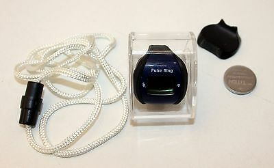 Büchel Sports Pulse Ring 3 Functions Start/Stop, Heart Rate Monitor, Time Blue