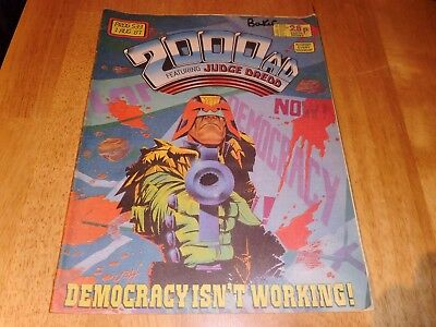 2000 AD Featuring JUDGE DREDD Prog' 533