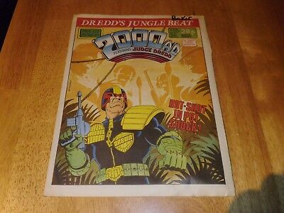 2000 AD Featuring JUDGE DREDD Prog' 537