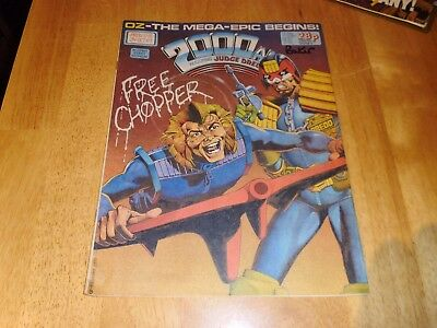 2000 AD Featuring JUDGE DREDD Prog' 545