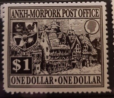 Discworl stamps 2008 1$ Mended Drum