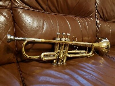 b-s sonora trumpet spares or repairs brass instrument B@S attic find