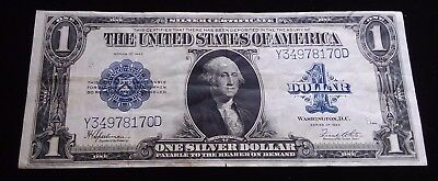 1923 $1 Large Note Silver Certificate in excellent condition!