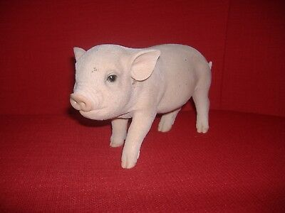 Micro Pig Resin Garden Ornament