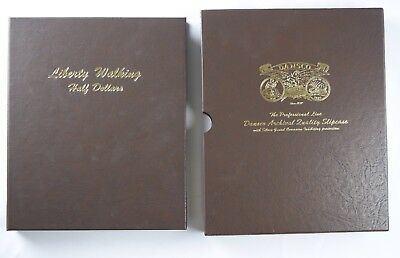 COMPLETE Dansco Liberty Walking Half Dollars Album #7160 NO RSV 65 Coins Silver
