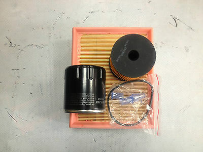 Citroen Berlingo 2.0 Hdi Service Kit Oil/air/fuel Filters Siemens Type 2002-2007