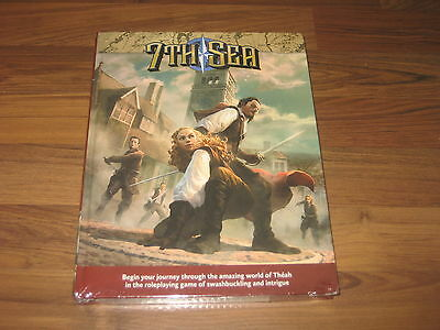 7th Sea Second Edition Core Rulebook Hardcover John Wick Games 2017 New Sealed