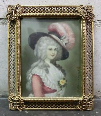 Gemälde *portrait Der Duchesse Of Devonshire - T. Gainsborough* (Uk) 18./19. Jh.