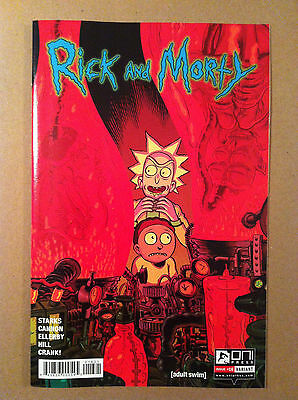 Rick & Morty #16 Troy Nixey Incentive Variant Cover Oni Nm 1St Printing 2016