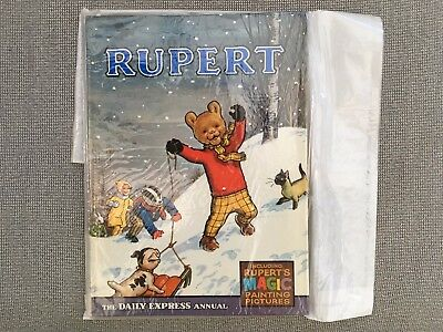 1967 Rupert Annual, No Inscription, Not Price Clipped, Magic Paintings Not Done!