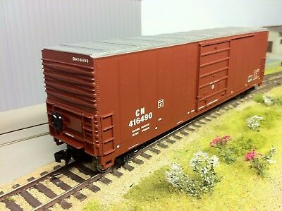 Proto 1000 item #89041 Canadian National  50' High Roof boxcar HO CN Car #416490