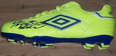 Marcus Rashford signed football boot authentic autograph MANCHESTER UNITED