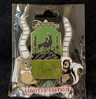 Disney Pin DSF DSSH Bambi 75th Anniversary Thumper Flower LE 200 75 Years