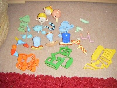 Bob The Builder Toys Playdough Playdoh cutters and figures  EYFS Childminder KS1