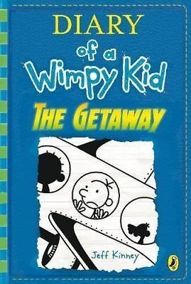 Diary of a Wimpy Kid: The Getaway (book 12) by Jeff Kinney Hardback Preorder NEW
