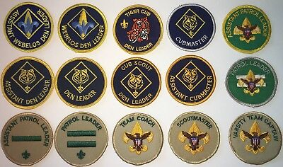 Boy Scout Of America Position Patch Used (H196)