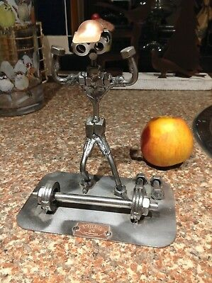 Steelman Weightlifting Powerlifting Trophy Figure