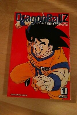 Dragon Ball Z 3 in 1 Manga Volume 1