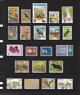 BECHUANALAND/BOTSWANA stamp selection.(ref.748)