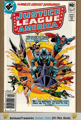 Justice League of America #170 (9.2-9.4) NM 1979 Bronze Age Key Issue