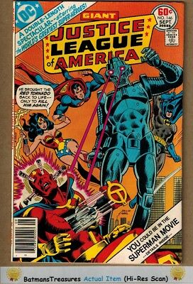 Justice League of America #146 (9.0) VF/NM 1977 Bronze Age Key Issue
