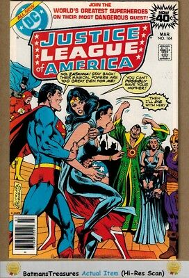 Justice League of America #164 (9.0-9.2) NM- 1979 Bronze Age Key Issue