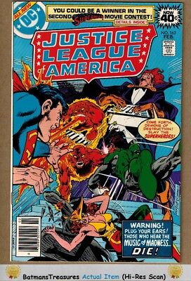 Justice League of America #163 (9.0-9.2) NM- 1979 Bronze Age Key Issue