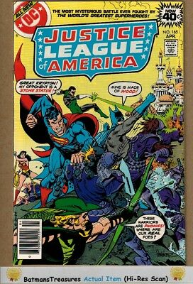 Justice League of America #165 (9.4-9.6) NM+ 1979 Bronze Age Key Issue