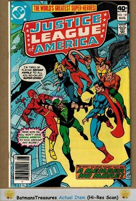 Justice League of America #181 (9.4) NM 1980 Bronze Age Key Issue