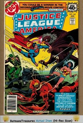 Justice League of America #162 (8.5) VF+ 1979 Bronze Age Key Issue