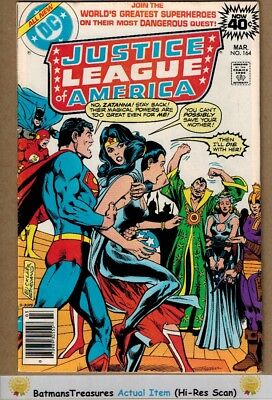 Justice League of America #164 (8.5) VF+ 1979 Bronze Age Key Issue