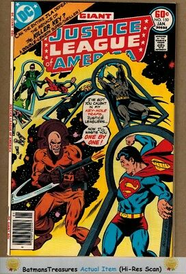 Justice League of America #150 (8.5) VF+ 1978 Bronze Age Key Issue