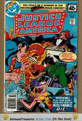 Justice League of America #163 (9.2-9.4) NM 1979 Bronze Age Key Issue