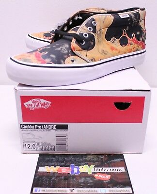 1ebf7ab54a Vans Supreme Chukka Pro Mid Blood and Semen Sneakers Men s Size 12 New