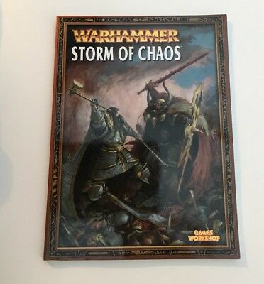 Storm Of Chaos Warhammer Fantasy Campaign Book Games Workshop