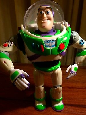 "Buzz Lightyear 12"" Talking Figure TOY STORY DISNEY PIXAR has done great service"