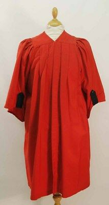 Vintage Red Clerical Gown by J.Wippell & Co