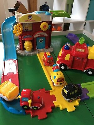 Vtech Toot Toot Drivers bundle of vehicles