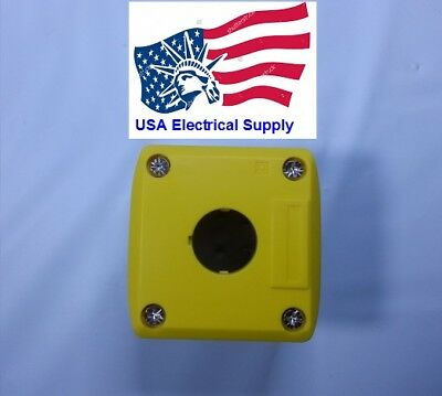 """1-Hole Switch Box for 22mm 7/8"""" PushButton Plastic Enclosure Power Push Button"""