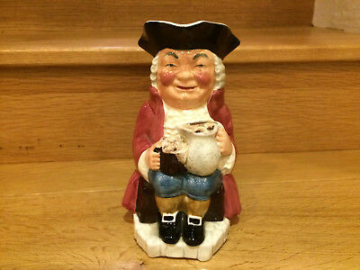 Toby Jug, Sylvac Staffordshire, Hand Painted, Made in England