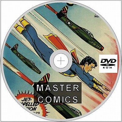 Master Comics Issues 1 - 133 On Dvd