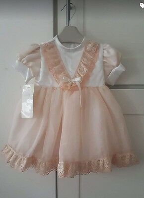 Baby Girls Tara Lee Special Occasion Christening Wedding Bridesmaid Dress